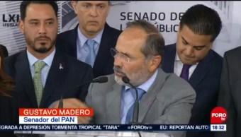Madero cuestiona si AMLO manipula con consulta sobre el NAIM