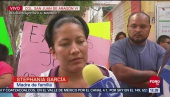 Madre afectada por agresor sexual en San Juan de Aragón da su testimonio
