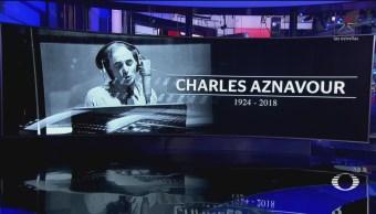 Murió Charles Aznavour Música Cultura Francia