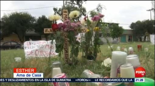 Manifestación Memorial Víctimas Ecatepec, Edomex