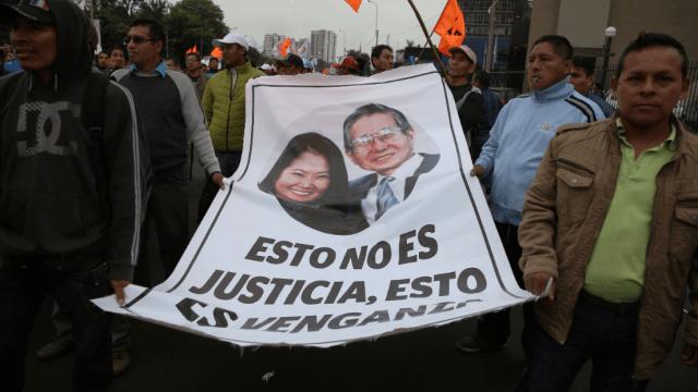 Perú: Protestan contra detención de Keiko Fujimori