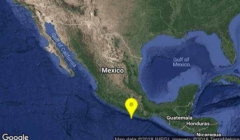 Sismo de magnitud 5.1 en San Marcos, Guerrero