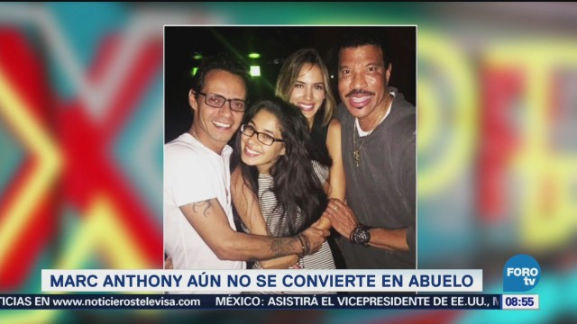 Marc Anthony aún no es abuelo