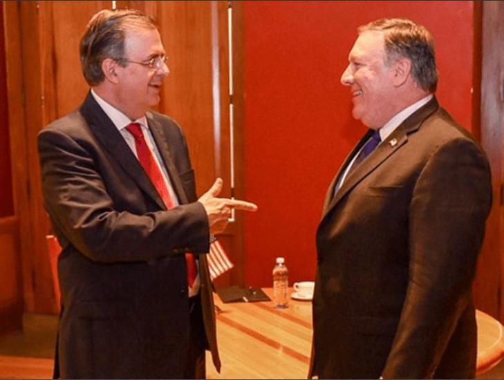 México y EU acuerdan agenda de trabajo desde diciembre