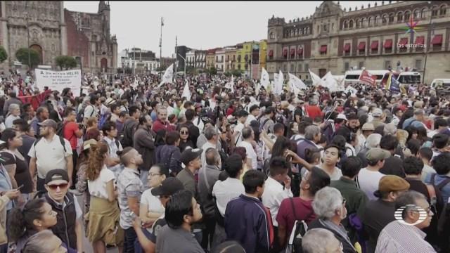 Marchan Tlatelolco Zócalo 50 Años Matanza Octubre