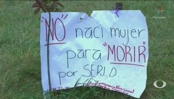 Marchan Exigir Protección Contra Feminicidios Ecatepec