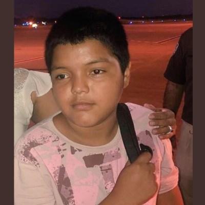 Mario David, el niño símbolo de la caravana migrante, regresa a su casa en Honduras