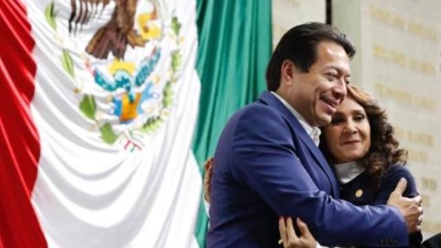 Mario Delgado rechaza confrontación con Dolores Padierna