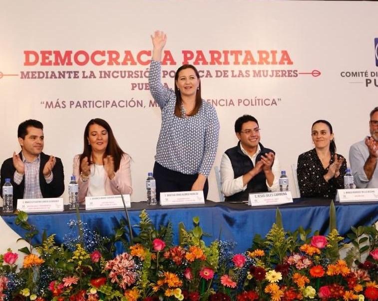 Seré la primera mujer en gobernar Puebla