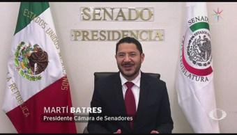Martí Batres Aclara Él No Hizo Uso Redes Senado