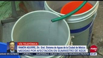 Medidas Suspensión Suministro Agua Cdmx Suministro