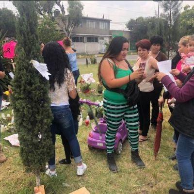 Piden justicia en memorial a víctimas del feminicida de Ecatepec