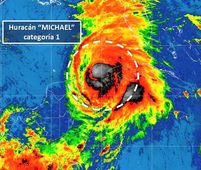 'Michael' provocará tormentas fuertes en Yucatán