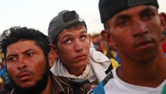 Tercera caravana migrante se prepara para llegar a México