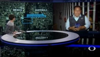 Migrantes Duermen Puente Fronterizo Ciudad Hidalgo Chiapas