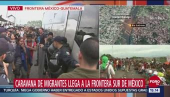 Migrantes en calma, ante la posibilidad de trámite migratorio en México