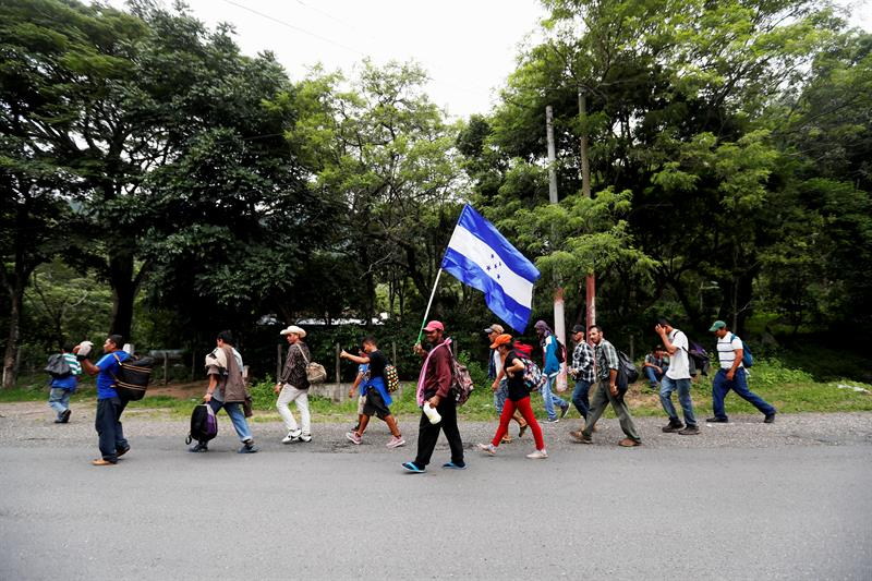 Migrantes centroamericanos tendrán libre tránsito por Chiapas