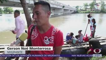 Migrantes llegan a México, su mayor temor es regresar a su país