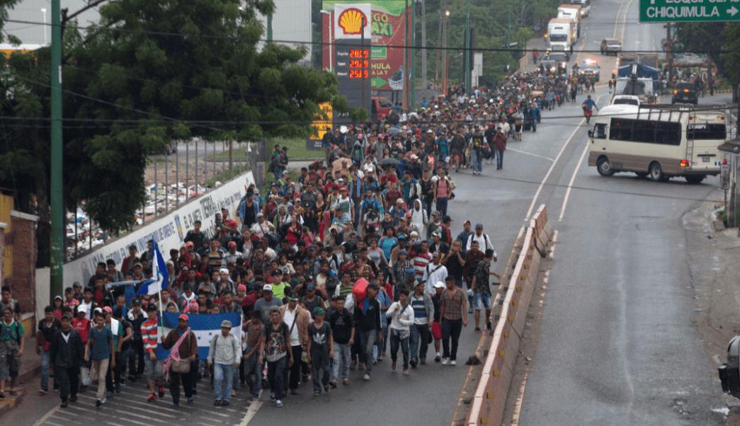 Caravana Migrante: Guatemala alberga a migrantes hondurenos