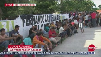 Miles de migrantes centroamericanos ingresan en segunda caravana