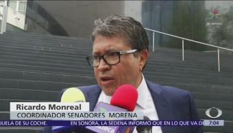 Monreal acepta posibilidad de financiar consulta del nuevo aeropuerto