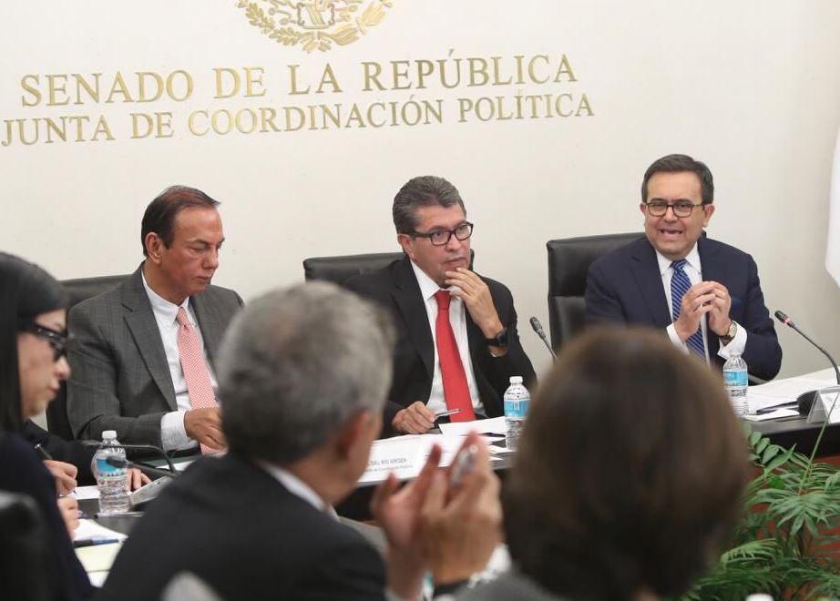 Ebrard promete a senadores transparencia en negociaciones internacionales - Portal Noticias Veracruz