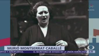 Muere Montserrat Caballé, una de las mejores sopranos