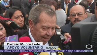 Muñoz Ledo modifica postura sobre consulta del nuevo aeropuerto