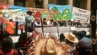 Equipo de transición de AMLO analiza con pobladores de Texcoco construcción del NAIM