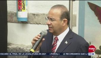 Navarrete Prida defiende actuación de Policía Federal en la frontera