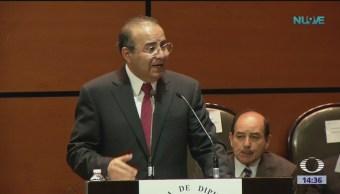 Navarrete Prida: México no cederá a presiones de EU