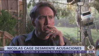 Nicolas Cage rechaza acusaciones de abuso sexual