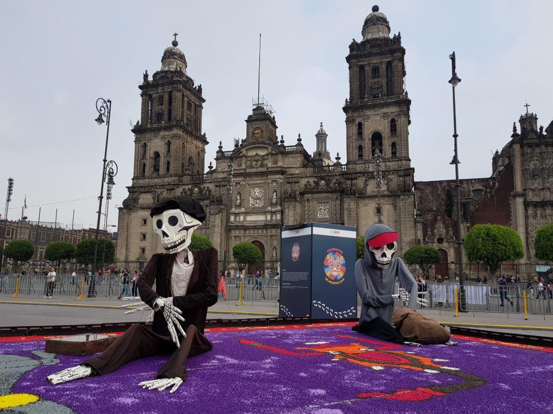 inauguran ofrenda monumental en zocalo de ciudad de mexico