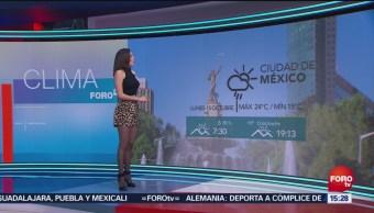 El Clima 'A las Tres' con Daniela Álvarez del 15 de octubre del 2018