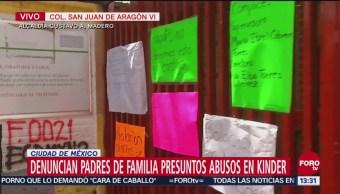 Padre de familia da testimonio sobre denuncias de abusos sexuales en GAM