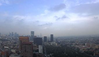 Prevén lluvias con actividad eléctrica en la Ciudad de México