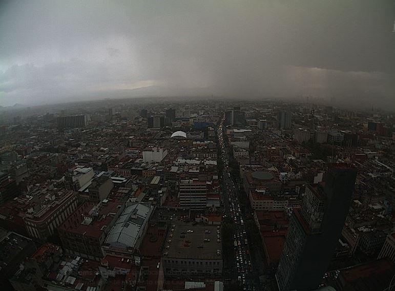 Hoy será un sábado lluvioso en el Valle de México