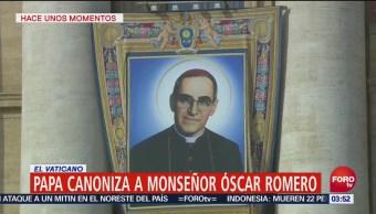 Papa Francisco Proclama Santo Obispo Salvadoreño Oscar Romero