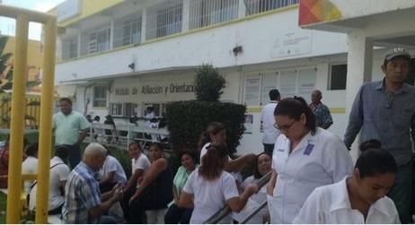 Paro laboral en hospitales de Tabasco afecta 5 mil pacientes