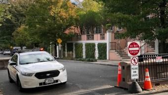 Bomba a casa de Obama es interceptada por Servicio Secreto