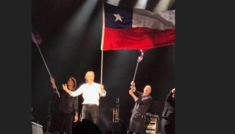 Paul McCartney confunde la bandera chilena con la de Texas