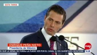 Peña Nieto: 6.2 millones de personas más cuentan con servicios de salud