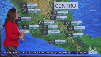 Persiste ambiente frío en gran parte de México