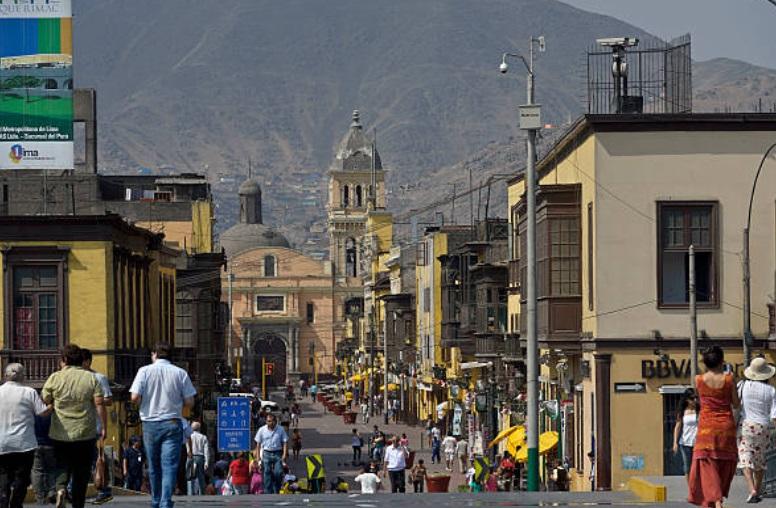 Perú es sacudido por temblor de magnitud 5.5