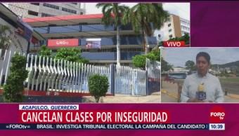 Piden A Estudiantes Guerrero Tener Precaución Ante Levantones