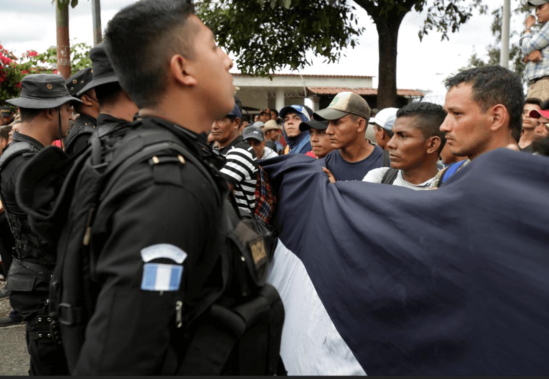 México confirma 640 peticiones de refugio de migrantes de caravana hondureña
