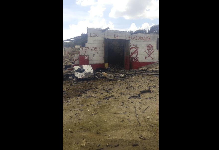 muertos explosion polvorin tlaxcala sanctorum pirotecnia