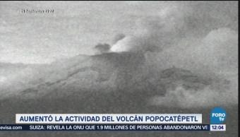 Popocatépetl emite 84 exhalaciones últimas 24 horas