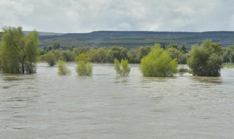 lima Durango; desfogan presa Guadalupe Victoria