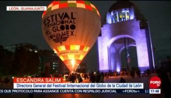 Promocionan festival del globo aerostático en la CDMX
